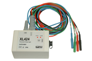 XL424 3-phase Voltage Data Logger
