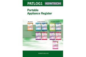 Kewtech PAT Test A4 log book (multiple site). Manually logs your test results - provides a professional results sheet for your customer. Duplicate sheets - enable you to keep a second record. Ideal for multiple site use. A4 pad of 50.